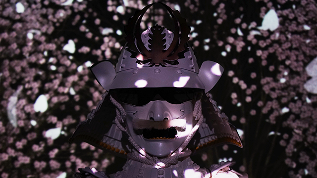 花伐つ鎧 – 常盤木門SAMURAI館